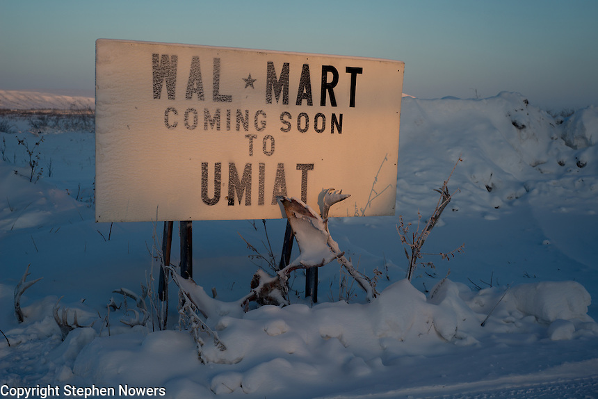 Wal Mart, coming soon to Umiat, Alaska (or maybe not).