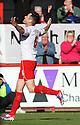 Greg Tansey of Stevenage celebrates scoring. Stevenage v Bury - npower League 1 -  Lamex Stadium, Stevenage - 29th September, 2012. © Kevin Coleman 2012