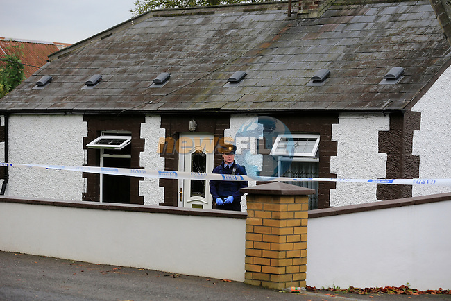 Two die in Co Meath house fire.<br /> <br /> Two occupants of a small house died in there home outside Duleek Co Meath.<br /> Picture: www.newsfile.ie