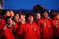 Opening ceremony. Photo: Magnus Fröderberg/Scouterna