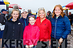 Amy, Julie and lucy Mangan, Nicki and Anna Simons-Gooding all Dooks at the Rossbeigh races on Sunday