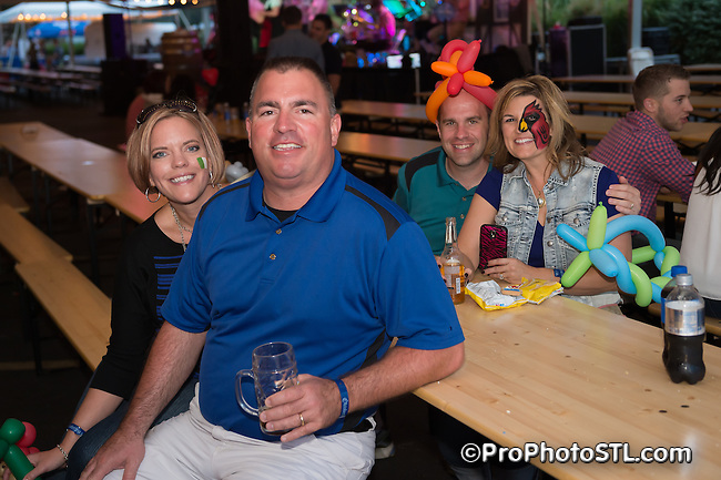 Anheuser-Busch Octoberfest event at Anheuser-Busch biergarten in St. Louis, Missouri on Sept 25-27, 2015.