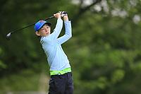 Dylan Holmes (Greystone) during the Connacht U14 Boys Amateur Open, Ballinasloe Golf Club, Ballinasloe, Galway,  Ireland. 10/07/2019<br /> Picture: Golffile | Fran Caffrey<br /> <br /> <br /> All photo usage must carry mandatory copyright credit (© Golffile | Fran Caffrey)