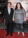Melissa McCarthy and husband at The Universal Pictures' World Premiere of Identity Thief held at The Mann VillageTheater in Westwood, California on February 04,2013                                                                   Copyright 2013 Hollywood Press Agency