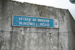 Windmill Road Sign 27/08/09..Photo NEWSFILE/Jenny Matthews.(Photo credit should read Jenny Matthews/NEWSFILE)....This Picture has been sent you under the condtions enclosed by:.Newsfile Ltd..The Studio,.Millmount Abbey,.Drogheda,.Co Meath..Ireland..Tel: +353(0)41-9871240.Fax: +353(0)41-9871260.GSM: +353(0)86-2500958.email: pictures@newsfile.ie.www.newsfile.ie.FTP: 193.120.102.198.