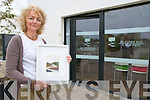 "An Cosan Nua : Tricia Healy oictured outside her ""An Cosan Nua"" (A New Path) business in the Tarbert E-Town complex."