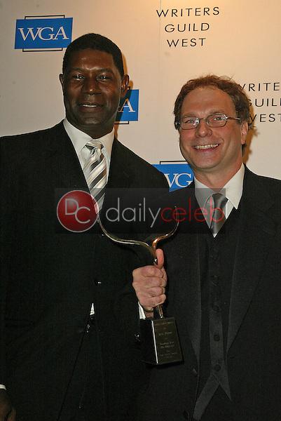 Don Payne and Dennis Haysbert