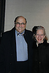 Novelist & poet Peter & Susan Straub - Actors, crew, production, family come to One Life To Live's wrap party and video tribute on November 18, 2011 at Capitale, New York City, New York.  (Photo by Sue Coflin/Max Photos)