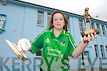 CHAMPION: Lisa Scanlon from Templeglantine who won the Limerick Camogie Skills finals on Saturday..   Copyright Kerry's Eye 2008