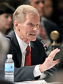 Washington, DC - May 31, 2008 -- United States Senator Bill Nelson (Democrat of Florida) gives testimony as representative of the Florida Democratic Party during the meeting of the Democratic National Committee (DNC) Rules and Bylaws Committee at the Marriott Wardman Park Hotel on Saturday, May 31, 2008..Credit: Ron Sachs / CNP.(RESTRICTION: NO New York or New Jersey Newspapers or newspapers within a 75 mile radius of New York City)
