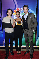 www.acepixs.com<br /> March 2, 2017  New York City<br /> <br /> Milo Ventimiglia, Susan Kelechi Watson and Justin Hartley attending the NBCUniversal Press Junket for midseason at the Four Seasons Hotel New York on March 2, 2017 in New York City.<br /> <br /> Credit: Kristin Callahan/ACE Pictures<br /> <br /> Tel: 646 769 0430<br /> Email: info@acepixs.com