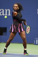 FLUSHING NY- SEPTEMBER 01: Serena Williams Vs Vania King on Arthur Ashe Stadium at the USTA Billie Jean King National Tennis Center on September 1, 2016 in Flushing Queens. Credit: mpi04/MediaPunch