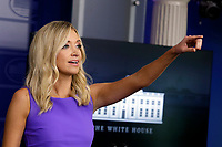 White House Press Secretary Kayleigh McEnany calls on a reporter during a press briefing at the White House in Washington, DC on May 28, 2020.<br /> Credit: Yuri Gripas / Pool via CNP/AdMedia