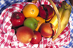 fruit in basket