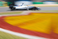 March 14, 2014: Felipe Massa (BRA) from the Williams Martini Racing team rounds turn three during practice session one at the 2014 Australian Formula One Grand Prix at Albert Park, Melbourne, Australia. Photo Sydney Low.