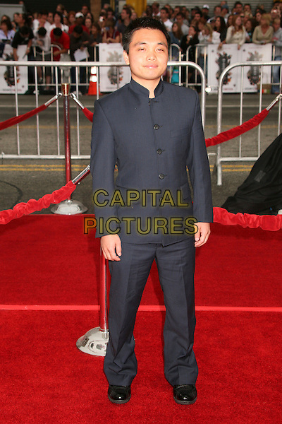 """SHAOBO QIN.""""Ocean's Thirteen"""" Los Angeles Premiere at Grauman's Chinese Theatre, Hollywood, California, USA..June 5th, 2007.full length suit black high asian collar .CAP/ADM/BP.©Byron Purvis/AdMedia/Capital Pictures"""
