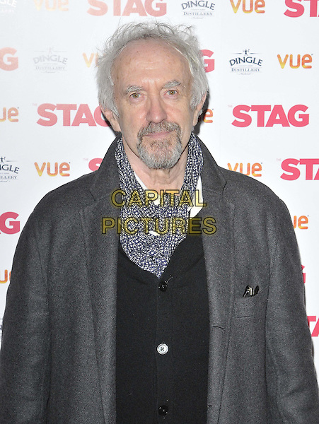 LONDON, ENGLAND - MARCH 13: Jonathan Pryce attends the &quot;The Stag&quot; gala film screening, Vue West End cinema, Leicester Square, on Thursday March 13, 2014 in London, England, UK.<br /> CAP/CAN<br /> &copy;Can Nguyen/Capital Pictures