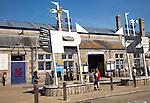 Railway station exterior, Penzance, Cornwall, England, UK