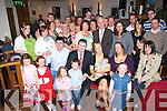 CHRISTENING CELEBRATION: Noel and Lorraine Maher, Kilcummin, who celebrated the christening of their son Sea?n on Saturday in The Granary, Killarney, with family and friends.   Copyright Kerry's Eye 2008
