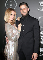 06 January 2018 - Santa Monica, California - Mena Suvari, Michael Hope. The Art Of Elysium's 11th Annual Black Tie Artistic Experience HEAVEN Gala held at Barker Hangar. <br /> CAP/ADM/FS<br /> &copy;FS/ADM/Capital Pictures