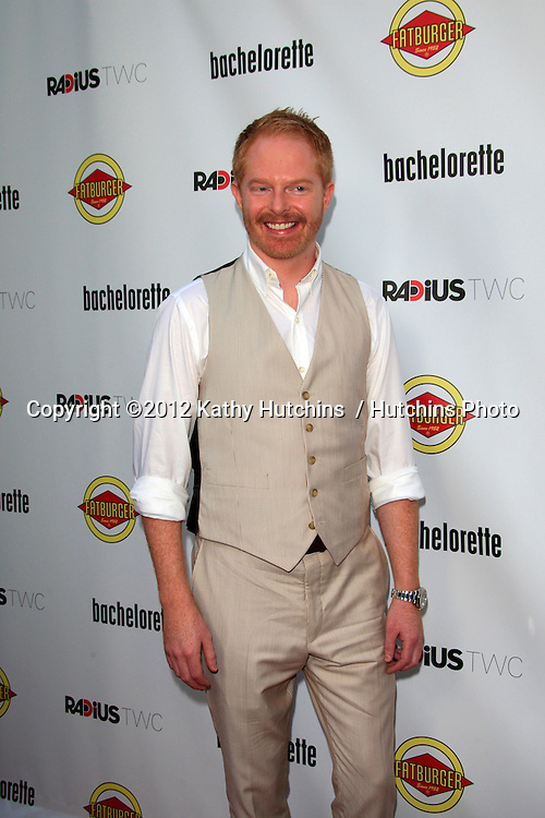 """LOS ANGELES - AUG 23:  Jesse Tyler Ferguson arrives at the """"Bachelorette"""" Premiere at ArcLight Cinema Theaters on August 23, 2012 in Los Angeles, CA"""
