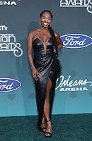 17 November 2019 - Las Vegas, NV - Rashida Crockett. 2019 Soul Train Awards Red Carpet Arrivals at Orleans Arena. Photo Credit: MJT/AdMedia