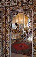 """Afrique/Afrique du Nord/Maroc/Rabat: Hotel La Tour Hassan - Restaurant """"La Maison Arabe"""""""