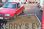PARKING: Ashe Street on Friday...   Copyright Kerry's Eye 2008