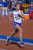 University of Memphis freshman and former Francis Howell All-Stater Kristen Adams runs to a third-place finish in the women's 10k in 38:01.52 at the 2015 Kansas Relays.