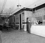 Interior of the Waterbury Hotel, West Main Street, June 1936.