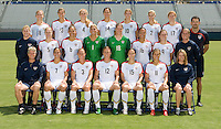 USWNT 2008 Olympic Team Photo, San Diego, California, Tuesday, July 15, 2008.