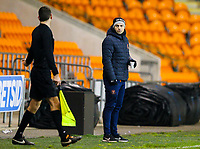 Blackpool's U18's coach Danny Ventre<br /> <br /> Photographer Alex Dodd/CameraSport<br /> <br /> The FA Youth Cup Third Round - Blackpool U18 v Derby County U18 - Tuesday 4th December 2018 - Bloomfield Road - Blackpool<br />  <br /> World Copyright &copy; 2018 CameraSport. All rights reserved. 43 Linden Ave. Countesthorpe. Leicester. England. LE8 5PG - Tel: +44 (0) 116 277 4147 - admin@camerasport.com - www.camerasport.com
