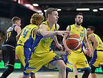 11.04.2018, Arena am Ischeland, Hagen, GER, 2. BBL PRO A, Play-Offs, Phoenix Hagen vs Rasta Vechta, im Bild<br /> <br /> Jannik Lodders (Hagen #16)<br /> <br /> <br /> Foto &copy; nordphoto / Treese