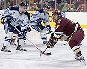 (Mike Hamilton, Bret Tyler) Stephen Gionta - The Boston College Eagles defeated the University of Maine Black Bears 4-1 in the Hockey East Semi-Final at the TD Banknorth Garden on Friday, March 17, 2006.