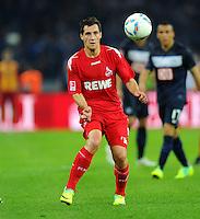 1. Oktober 2011: Berlin, Olympiastadion: Fussball 1. Bundesliga, 8. Spieltag: Hertha BSC - 1. FC Koeln: Koelns Mato Jajalo am Ball.