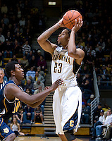 Allen Crabbe of California in action during the game against UC Irvine at Haas Pavilion in Berkeley, California on November 11th, 2011.  California defeated UC Irvine, 77-56.