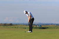 David McAleenon (Edenmore) on the 1st green during Round 2 of the East of Ireland Amateur Open Championship 2018 at Co. Louth Golf Club, Baltray, Co. Louth on Sunday 3rd June 2018.<br /> Picture:  Thos Caffrey / Golffile<br /> <br /> All photo usage must carry mandatory copyright credit (&copy; Golffile | Thos Caffrey)