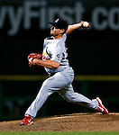 4 August 2007: St. Louis Cardinals pitcher Joel Pineiro in action against the Washington Nationals at RFK Stadium in Washington, DC. The Nationals defeated the Cardinals 12-1 in the second game of their 3-game series...Mandatory Photo Credit: Ed Wolfstein Photo