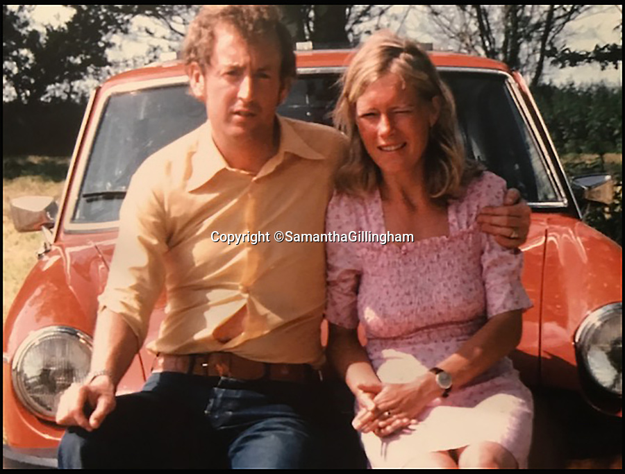 BNPS.co.uk (01202 558833)<br /> Pic: SamanthaGillingham/BNPS<br /> <br /> Russell Causley with his wife Veronica Packman who was known as Carol.<br /> <br /> A grieving daughter has today spoken of her outrage that her father could be released from prison later this year without having told her what he did with her mother's body.<br /> <br /> Russell Causley has spent 21 years in prison for the 1985 murder of his wife Carole Packman, becoming one of the first killers in UK history to be found guilty without his victim's remains ever being found. <br /> <br /> Causley was jailed 11 years after Carole's disappearance following confessions to cellmates while serving time in prison for fraud - a sentence he was handed after a lavish attempt to fake his own death as part of an insurance scam in 1993. <br /> <br /> Carole's daughter Samantha Gillingham, 48, successfully pleaded with the Parole Board in 2014 to keep Causley incarcerated, but is now braced for a fresh parole hearing on a date that is yet to be set between September and January.