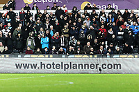 Hotel Planner LED advertisement during the Premier League match between Swansea City and Crystal Palace at The Liberty Stadium, Swansea, Wales, UK. Saturday 23 December 2017