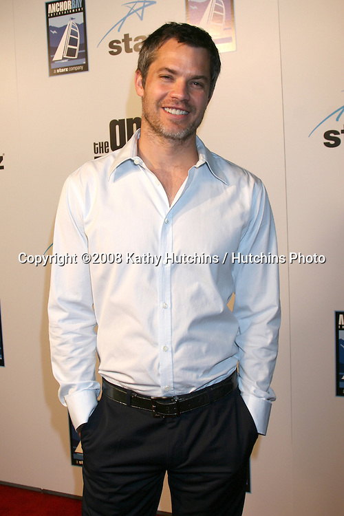 """Timothy Olyphant.""""The Grand"""" Premiere.Cinerama Dome.ArcLight Theaters.Los Angeles, CA.March 5, 2008.©2008 Kathy Hutchins / Hutchins Photo...."""