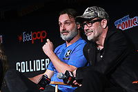 NEW YORK, NY - OCTOBER 7: Andrew Lincoln and Jeffrey Dean Morgan at AMC's The Walking Dead panel at New York Comic Con on October 7, 2017 in New York City.    <br /> CAP/MPI/DC<br /> &copy;DC/MPI/Capital Pictures
