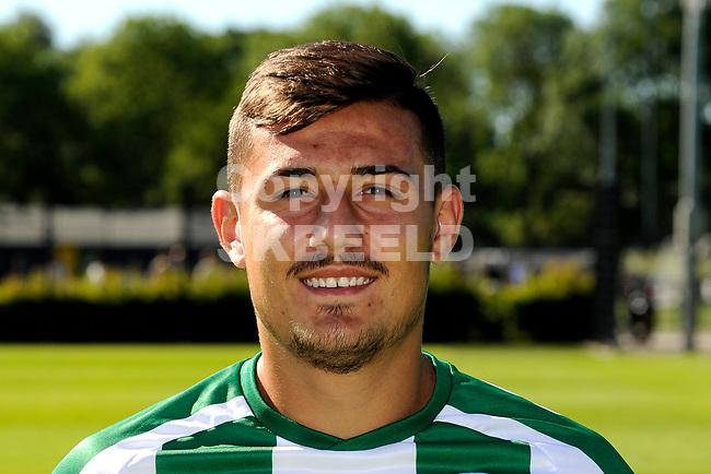 GRONINGEN - Presentatie FC Groningen o23, seizoen 2018-2019,   30-06-2018,  Antonio Manolache