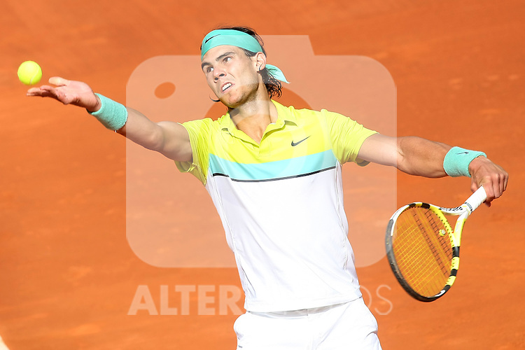 Spain's Rafael Nadal during his Madrid Open Semi final match.May 16 2009.(ALTERPHOTOS/Acero).