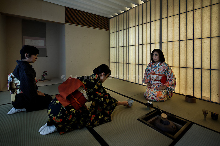 Tokyo, November 27 2013 - Steel house by Kengo Kuma.