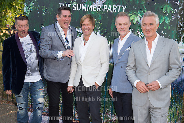Spandau Ballet at The Serpentine Gallery Summer Party 2015 at The Serpentine Gallery, London.<br /> July 2, 2015  London, UK<br /> Picture: Steve Vas / Featureflash