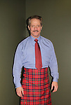 Guiding Light and Another World's David Andrew MacDonald wearing the tartan Macdonald of Glenaledale as he stars in Charlie's Aunt on opening night of the play October 27, 2018 at the Shakespeare Theatre of New Jersey. It runs through November 18, 2018. (Photo by Sue Coflin/Max Photo)