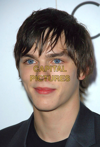 NICHOLAS HOULT.Attending a presentation of Calvin Klein's new collection at P3, Marylebone Road, London, England, .October 15th 2007..party portrait headshot.CAP/CAS.©Bob Cass/Capital Pictures.