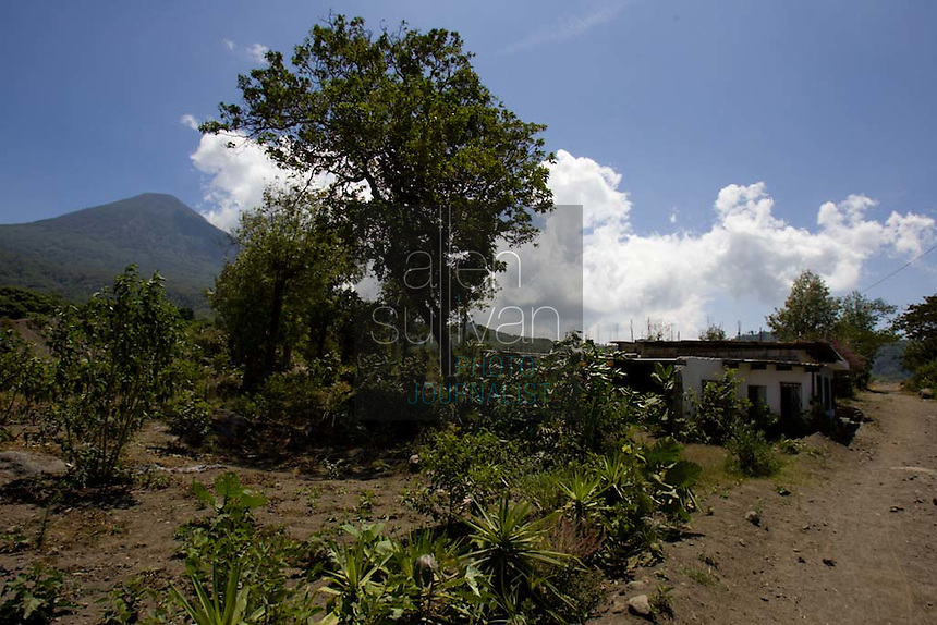 An area in Panabaj, Guatemala on Saturday, March 17, 2007. A deadly mudslide was spawned by rains associated with Hurricane Stan in October 2005. Initially, up to 500 Tzujutil Maya villagers were believed to have been killed by the mudslide, which essentially  wiped away the town. Forensic anthropologists from the Fundación de Antropología Forense de Guatemala have been working to unearth the bodies of the missing and have recovered more than 100. They have also found the number of missing to be lower than originally thought, after many people were located in shelters or living in other towns after the disaster.
