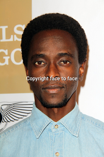 BEVERLY HILLS, CA - February 05: Edi Gathegi at Experience East Meets West honoring Beverly Hills' momentous centennial year, Crustacean, Beverly Hills, February 05, 2014.<br />